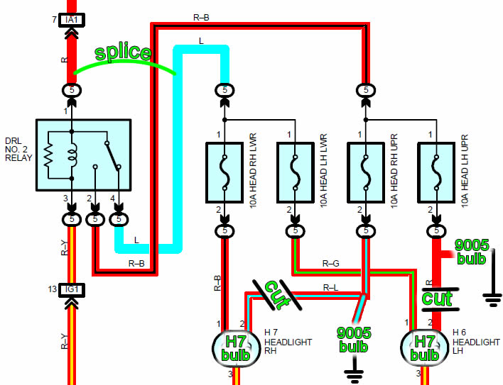 Car Light Wiring Diagram Diagram Wiring Diagram Schematic
