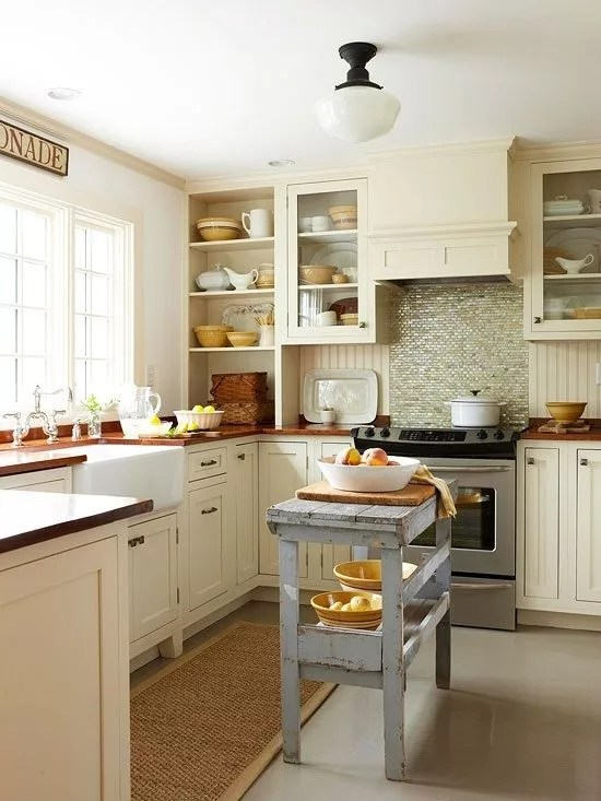 32 Brilliant Hacks to Make A Small Kitchen Look Bigger u2014 Eatwell101 - small kitchen layout ideas