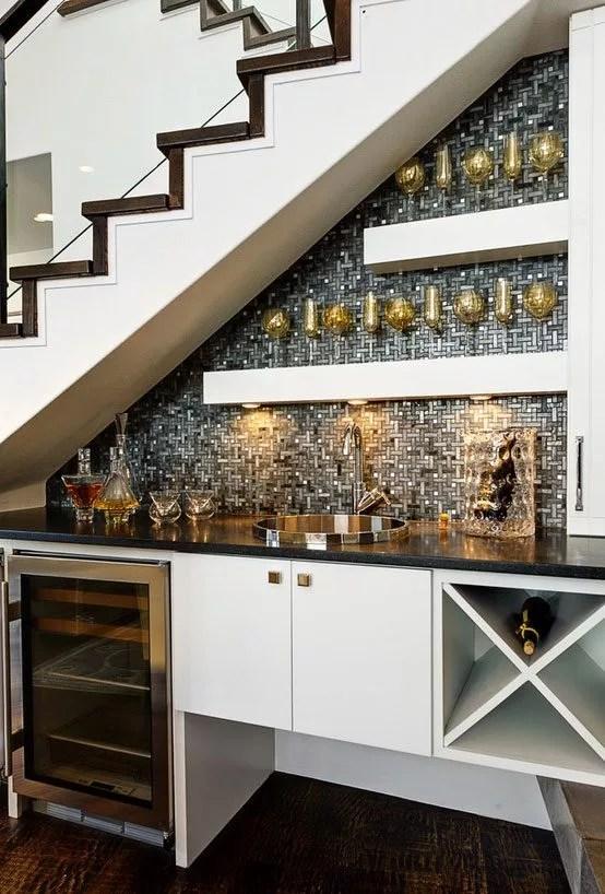 Kitchen Under Stairs Inspiration u2014 Eatwell101 - under stairs kitchen storage