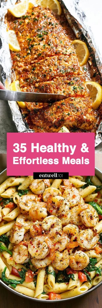 Easy Healthy Dinner Ideas: 43 Low Effort and Healthy Dinner Recipes — Eatwell101