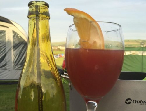 Spanish sangria with Monarch airlines