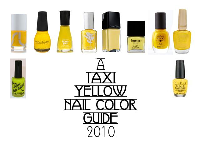 Yellow Nail Polish Trends
