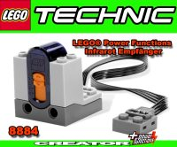 Lego 8884 Infrared Receiver 2 Channel Technic Creator ...