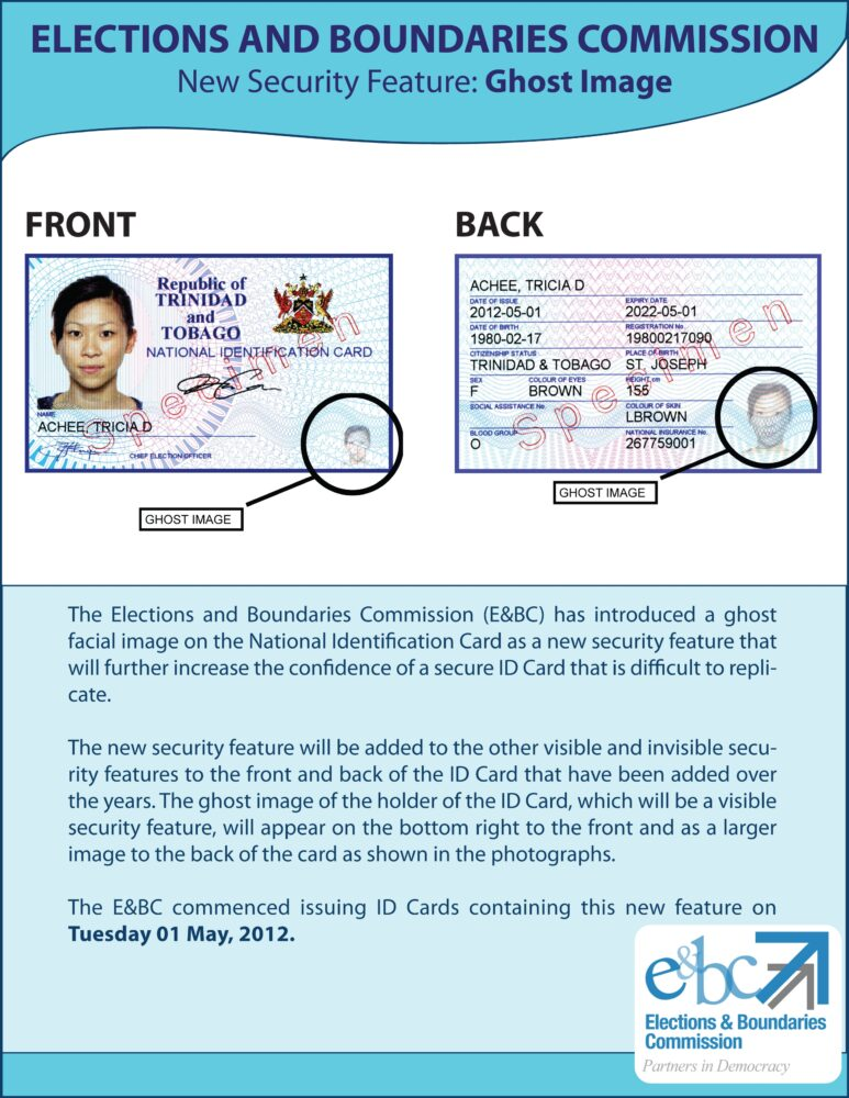 Also see new security feature on national identification card