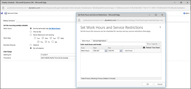 Microsoft Dynamics 365 For Professional Services
