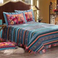 Blooming Design Luxury Comforter Set | EBeddingSets