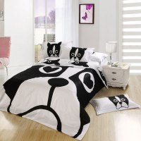 Dog print bedding set twin queen and king size
