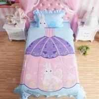 Princess Rivals Teenage Girls Blue Bed Set   EBeddingSets