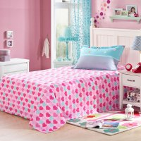 Light Blue and Pink Shaun the Sheep Cotton Bedding Set ...