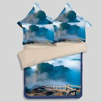 Lovely Nature Blue Themed Bedding Set | EBeddingSets