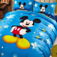 Classic Mickey Mouse Bedding Set Twin Queen Size ...