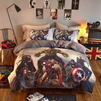 Marvel Super Heroes Teens Bedding Set Twin Queen Size ...