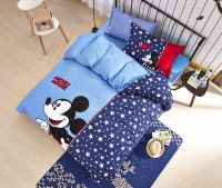 Mickey Mouse Boys Queen Size Embroidery Bedding Set ...