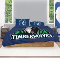 Buy NBA Minnesota Timberwolves Bedding Comforter Set | Up ...