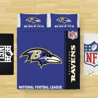 Buy NFL Baltimore Ravens Bedding Comforter Set | Up to 50% Off