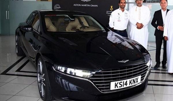 Aston Martin Recreates Lagonda as It Reaches Oman for Testing
