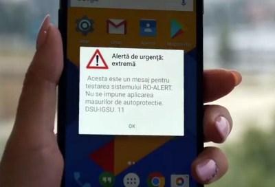 Proba cu alerta: Autoritatile testeaza sistemul de avertizare si...