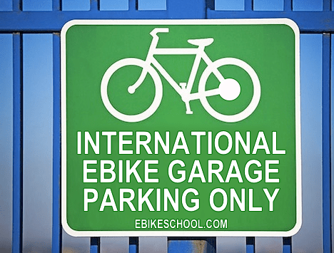 International Ebike Garage electric bicycle list