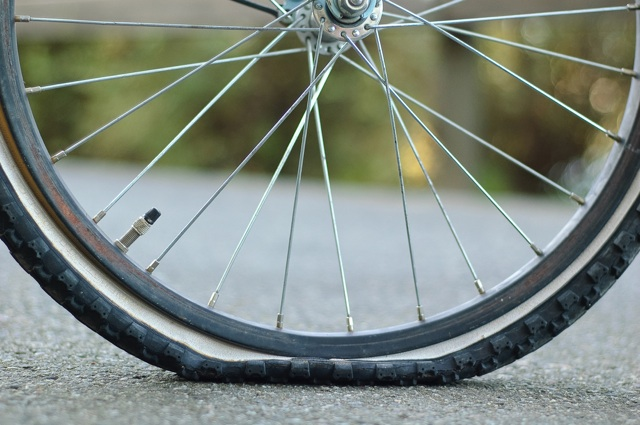 Flat tires, otherwise known as a bad day