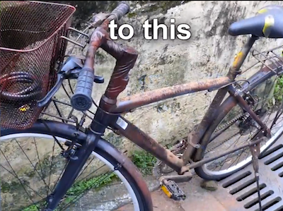 electric bicycle theft prevention