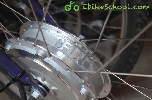 front hub motor ebikeschool