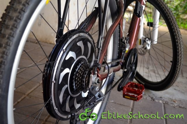 rear gearless hub motor ebikeschool