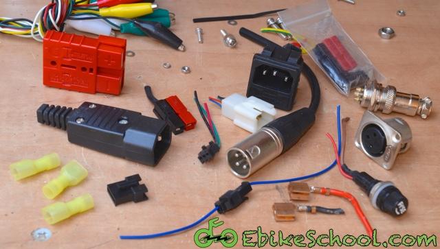 pile of connectors