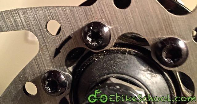 disc brake bolts