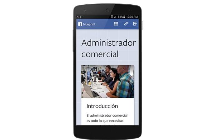 Facebook Blueprint ya está disponible en español