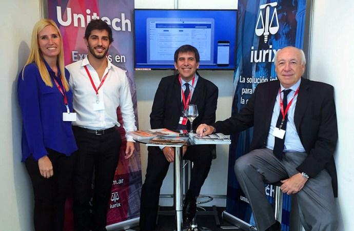 Unitech presentó su nuevo IURIX en la VI Feria de Justicia y Tecnología de Paraguay
