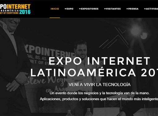 ExpoInternet 2016 lanzó su convocatoria abierta a oradores