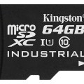 Kingston microSD Industrial- UHS-I 64 GB