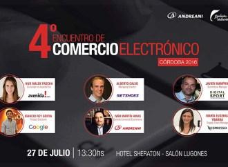 Córdoba será sede del 4° Encuentro de Comercio Electrónico en julio