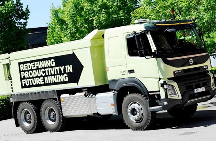 El futuro del camión autónomo ya llegó con Volvo