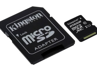 Kingston lanzó una tarjeta microSDXC Class 10 UHS-I
