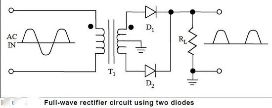 full wave rectification circuit