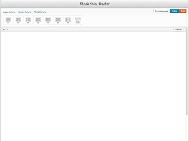 Homepage - Ebook Sales Tracker