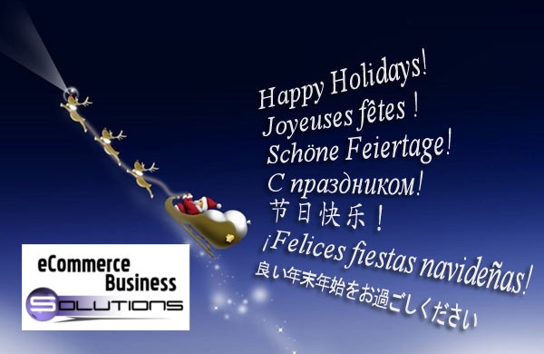 Greetings! Happy Holidays Resource Themed - Ecommerce Business