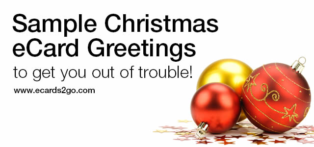 Business Holiday eCards Message Samples