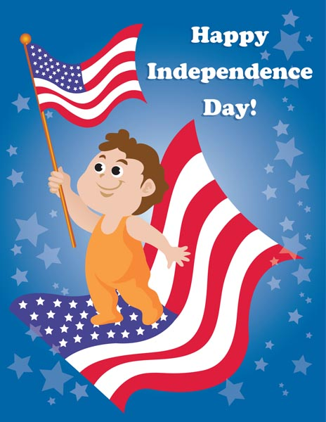 Independence Day Cards Ecard Wizard