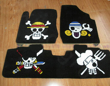 Buy Wholesale Funky Skull Tailored Trunk Carpet Auto Floor