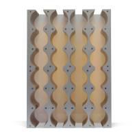 Rhythm Wine Rack Cabinet Insert - 4x6 Bottle - Alloy ...