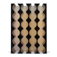 Rhythm Wine Rack Cabinet Insert - 4x6 Bottle - Black ...