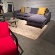 G.Ramono sofa w/flex chaise $2795 floor model