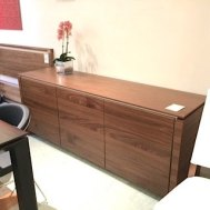 "Horizon buffet walnut $1599 was $3225 76""x 20.5""D"