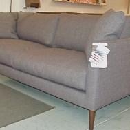 "Clarice 74"" condo sofa $1650 feather/float seats w/trillium back cushions"