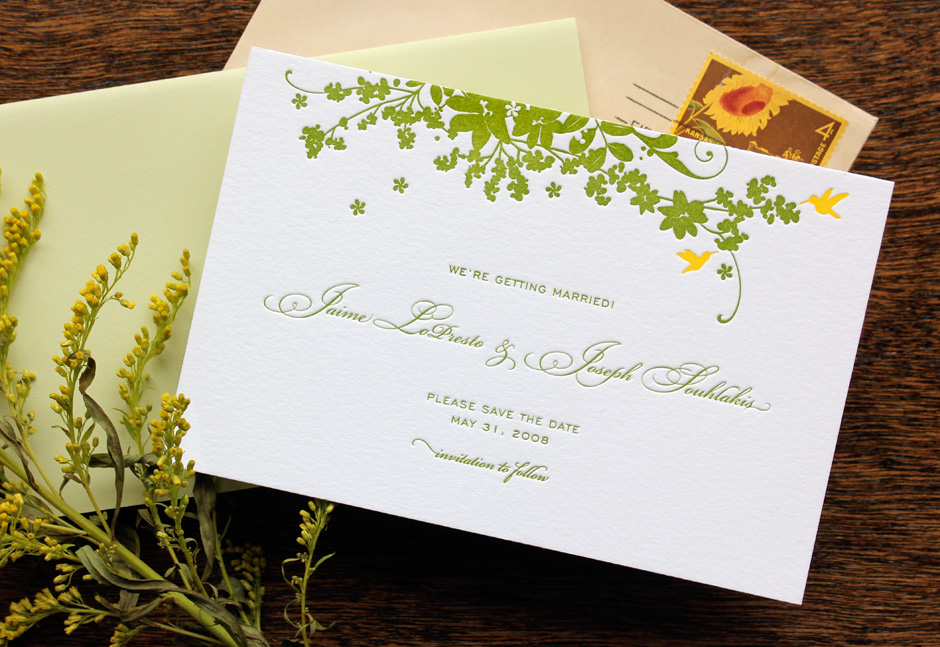 Gunnells Marriage - James D to Ethel Haws Name J D Gunnells Event - invitation non formal
