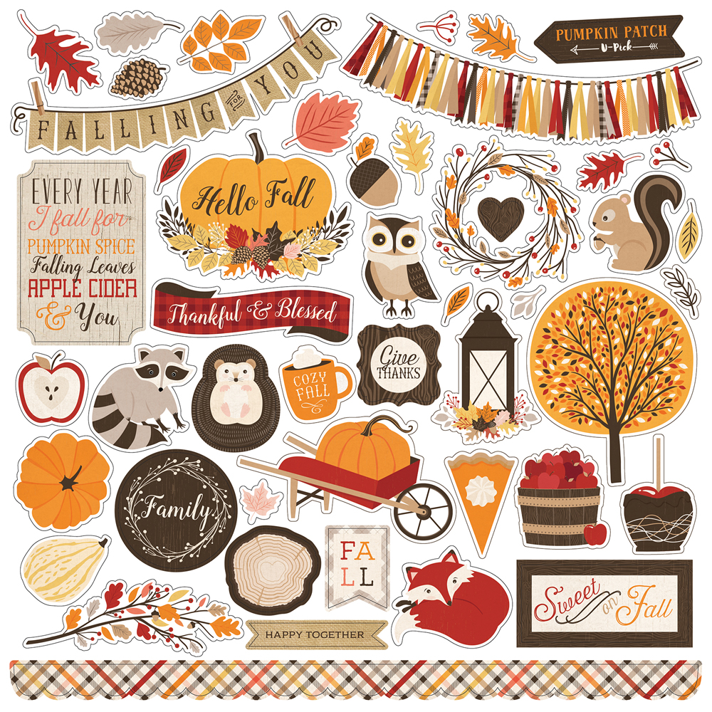 Fall Harvest Wallpaper Images Collections Echo Park Paper Co Hello Fall