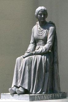 evangeline_statue