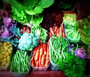 Share your veggies with the hungry donate to a local soup kitchen